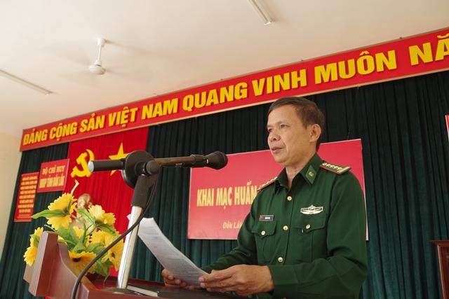 BĐBP tỉnh Đắk Lắk: Khai mạc huấn luyện chiến sĩ mới năm 2018