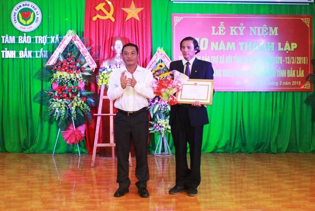 Trung tâm Bảo trợ xã hội tỉnh kỷ niệm 40 năm thành lập