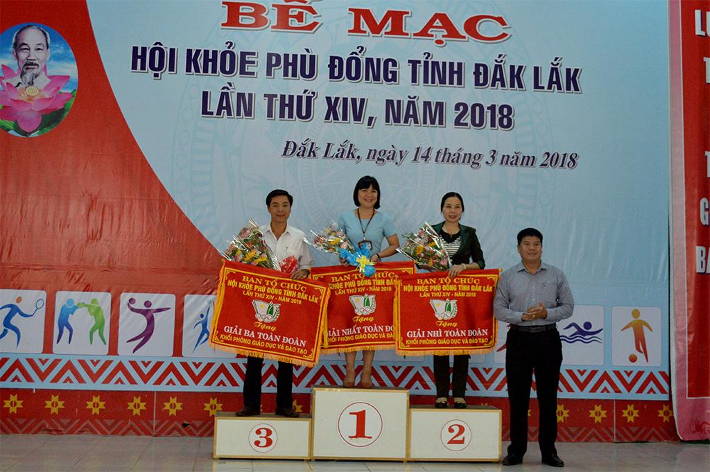 Bế mạc Hội khỏe Phù Đổng tỉnh Đắk Lắk lần thứ XIV