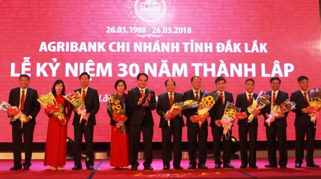 Agribank Đắk Lắk kỷ niệm 30 năm thành lập