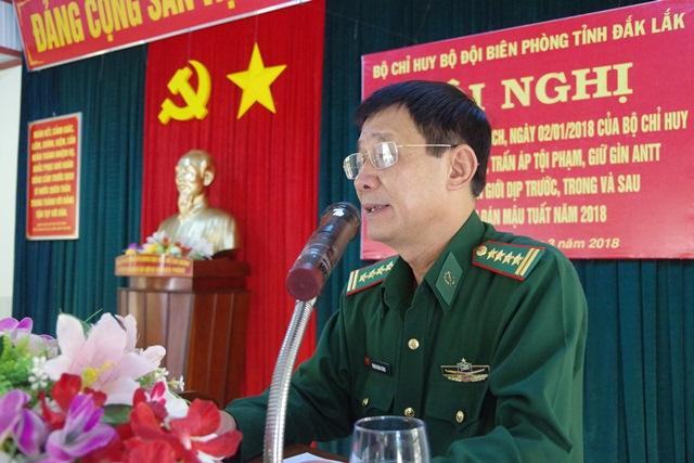 BĐBP tỉnh Đắk Lắk sơ kết kế hoạch cao điểm tấn công trấn áp tội phạm ở khu vực biên giới