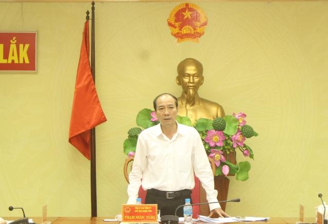 UBND tỉnh họp thông qua nội dung trình Kỳ họp thứ 6, HĐND tỉnh khóa IX