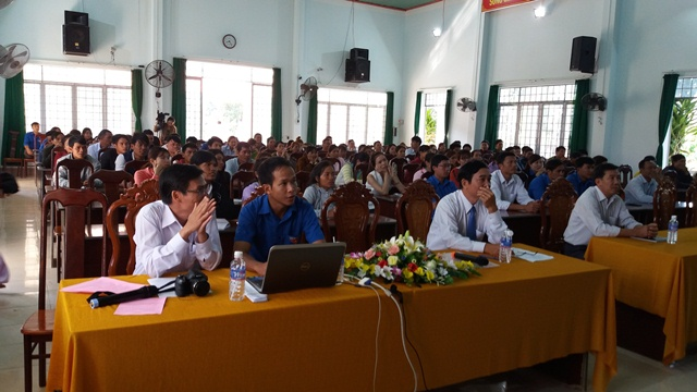 Huyện Lắk khai mạc lớp bồi dưỡng kết nạp Đảng đợt I năm 2018