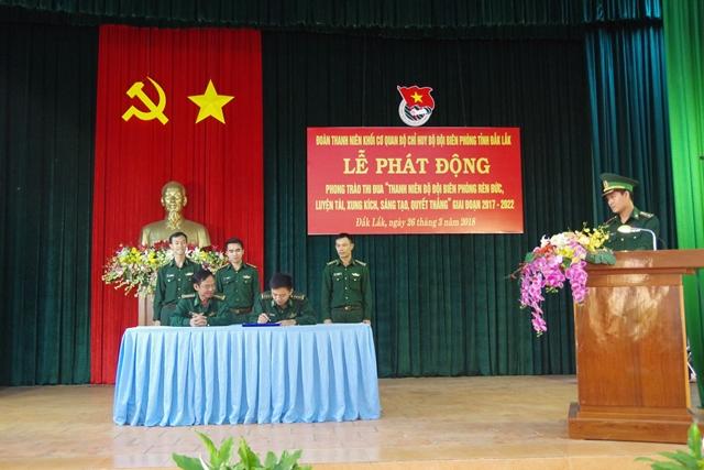 Đoàn Thanh niên BĐBP tỉnh Đắk Lắk tổ chức nhiều hoạt động chào mừng kỷ niệm 87 năm Ngày thành lập Đoàn TNCS Hồ Chí Minh.