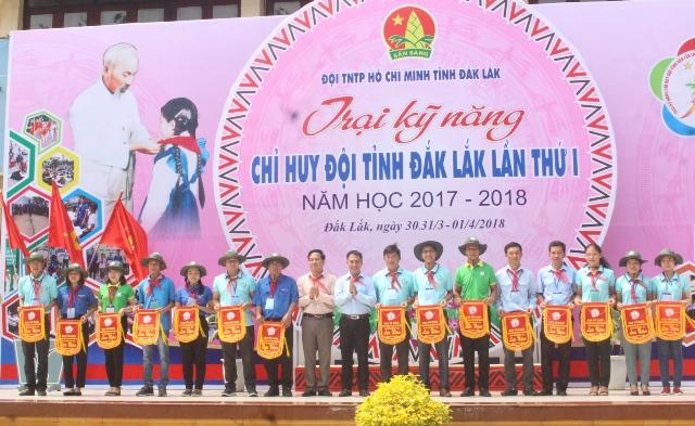Khai mạc Trại Kỹ năng Chỉ huy Đội tỉnh Đắk Lắk lần thứ I, năm học 2017 – 2018