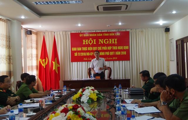 Tiếp tục phối hợp thực hiện tốt Nghị định 77 của Chính phủ
