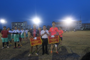 Giải bóng đá lần thứ nhất của Trường Trung cấp Luật Buôn Ma Thuột thành công tốt đẹp