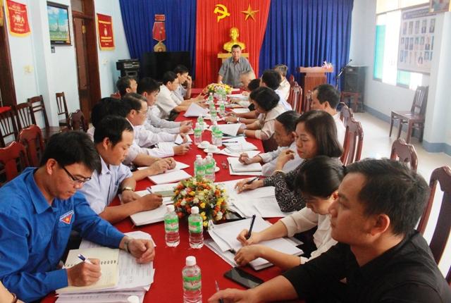 UBMTTQ Việt Nam tỉnh họp rà soát kế hoạch giám sát năm 2018