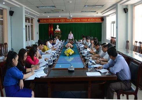 Đảng ủy cơ quan Chính quyền thành phố tổ chức Hội nghị (mở rộng) sơ kết công tác quý I và triển khai nhiệm vụ trọng tâm quý II/2018