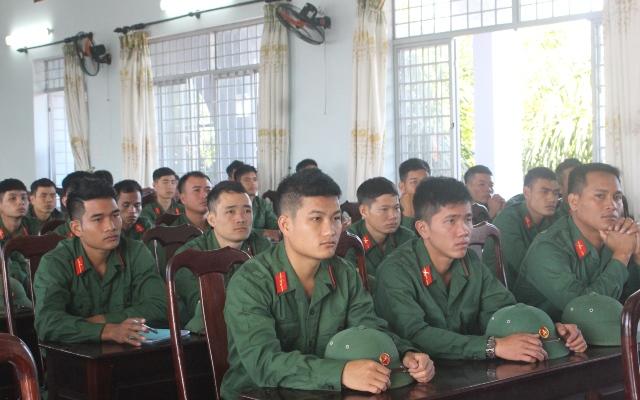 Khai giảng lớp đào tạo sĩ quan dự bị bộ binh khóa 10, năm 2018