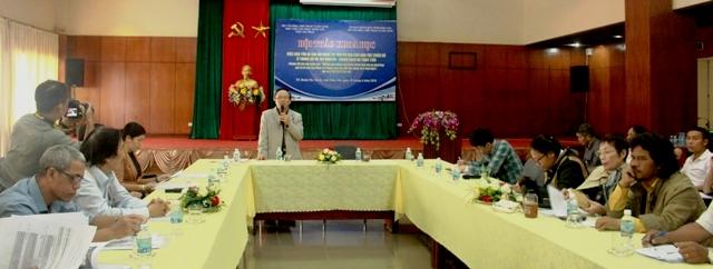 Hội thảo khoa học về bảo tồn di sản âm nhạc cổ truyền của dân tộc thiểu số ở Trung Bộ và Tây Nguyên