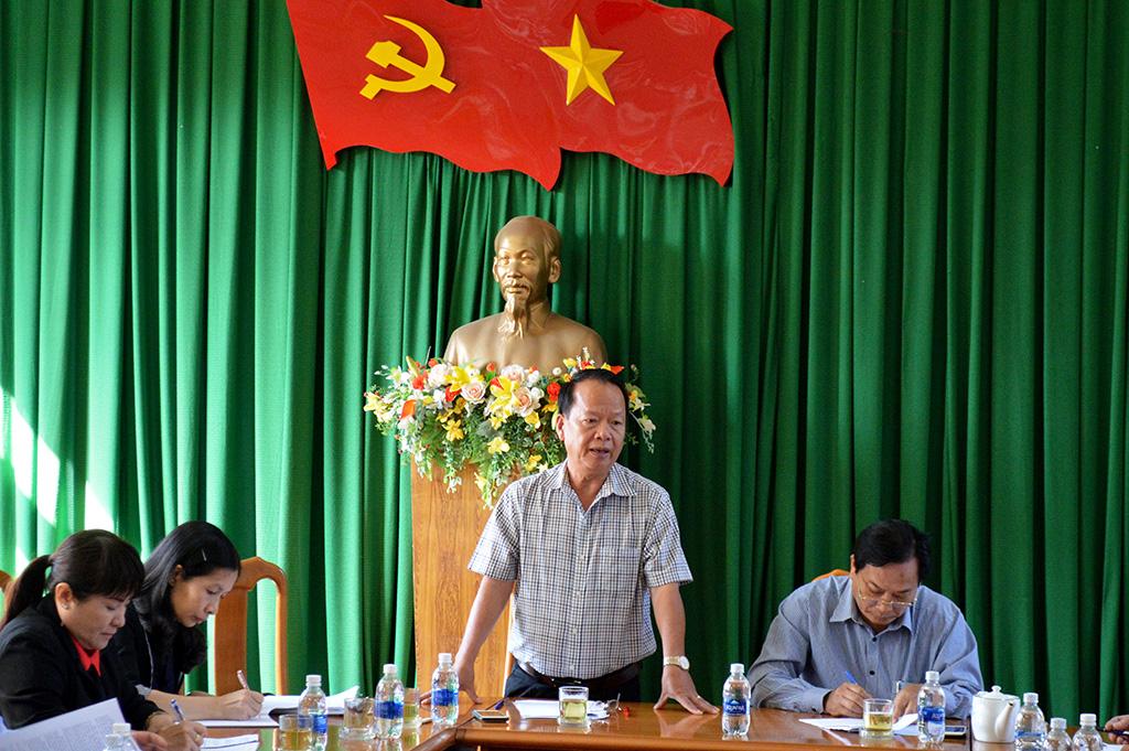 Giám sát tình hình xây dựng, thực hiện Đề án vị trí việc làm tại huyện Krông Ana