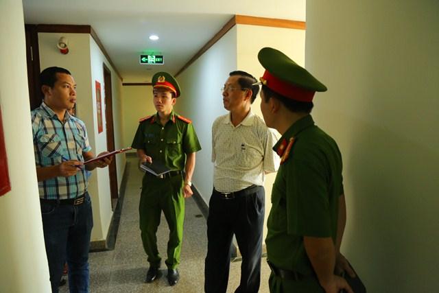 Kiểm tra, chấn chỉnh công tác phòng cháy chữa cháy tại chung cư Hoàng Anh Gia Lai