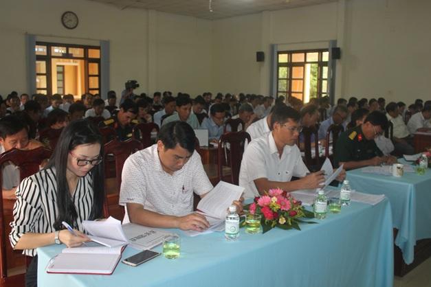 Đảng bộ huyện Cư Kuin tổ chức Hội nghị cán bộ chủ chốt