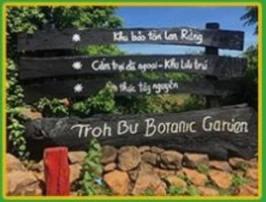 Giới thiệu về vườn Troh Bư