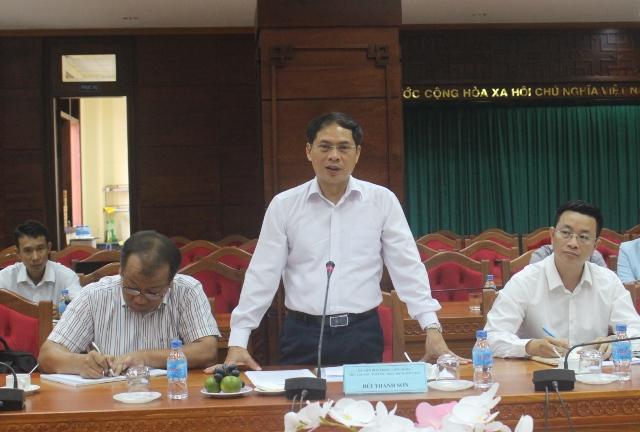 Đoàn công tác của Bộ Ngoại giao thăm và làm việc tại tỉnh Đắk Lắk