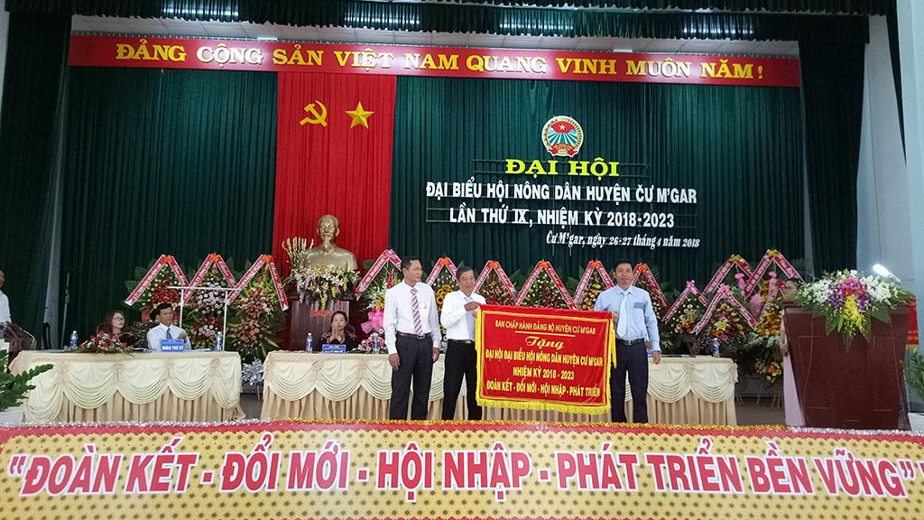 Đại hội Hội Nông dân huyện Cư M'gar lần thứ IX (nhiệm kỳ 2018-2023)