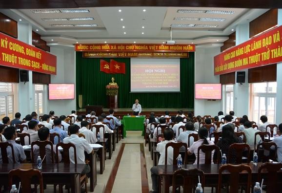 UBND thành phố Buôn Ma Thuột tổ chức Hội nghị đánh giá tình hình thực hiện công tác tháng 4 và triển khai nhiệm vụ trọng tâm tháng 5/2018