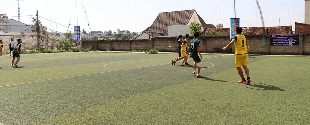 Khai mạc giải bóng đá truyền thống Đoàn thanh niên Công an tỉnh năm 2018