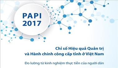 Xây dựng giải pháp cải thiện vị trí xếp hạng chỉ số Cải cách hành chính và chỉ số PAPI năm 2017 của tỉnh