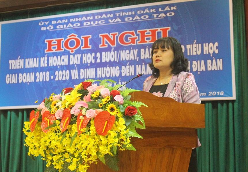 Triển khai Kế hoạch dạy học 02 buổi/ngày, bán trú cấp tiểu học giai đoạn 2018 -2020 và định hướng đến năm 2025 trên địa bàn tỉnh Đắk Lắk