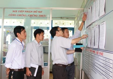 Ban hành Kế hoạch kiểm tra thực hiện công tác kiểm soát thủ tục hành chính trên địa bàn tỉnh năm 2018.