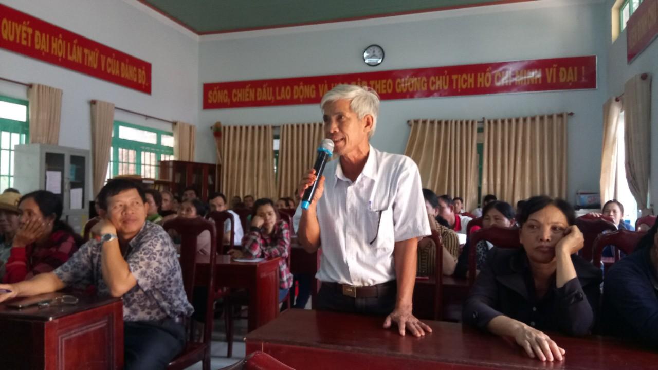 Huyện ủy Cư M'gar tổ chức buổi đối thoại trực tiếp với nhân dân ở xã Cư Suê