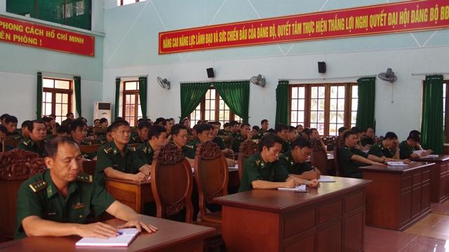 Đảng ủy Bộ đội Biên phòng tỉnh Đắk Lắk thông báo kết quả Hội nghị Trung ương 7 khóa XII