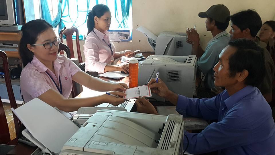 Ngân hàng Chính sách xã hội huyện Lắk với công tác tín dụng chính sách tại điểm giao dịch xã
