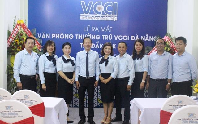 VCCI Đà Nẵng ra mắt văn phòng thường trú tại Đắk Lắk