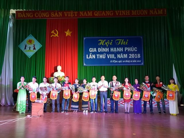 Huyện Cư M'gar tổ chức thành công Hội thi gia đình hạnh phúc năm 2018