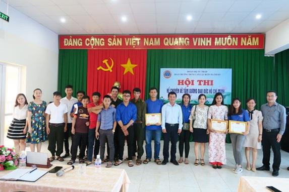 """Trường Trung cấp Luật Buôn Ma Thuột tổ chức Hội thi kể chuyện về """"Tấm gương đạo đức Hồ Chí Minh"""" năm 2018"""