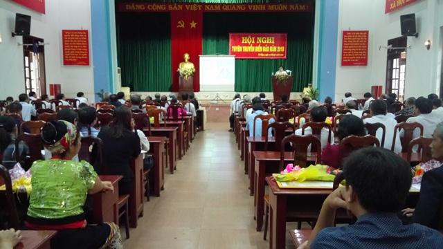 Hội nghị tuyên truyền biển đảo năm 2018 ở huyện Cư M'gar