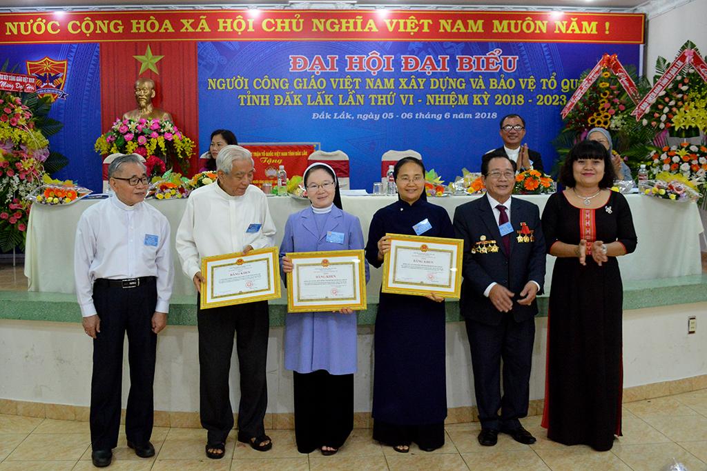 Đại hội Đại biểu Người công giáo Việt Nam xây dựng và bảo vệ Tổ quốc tỉnh Đắk Lắk lần thứ VI.