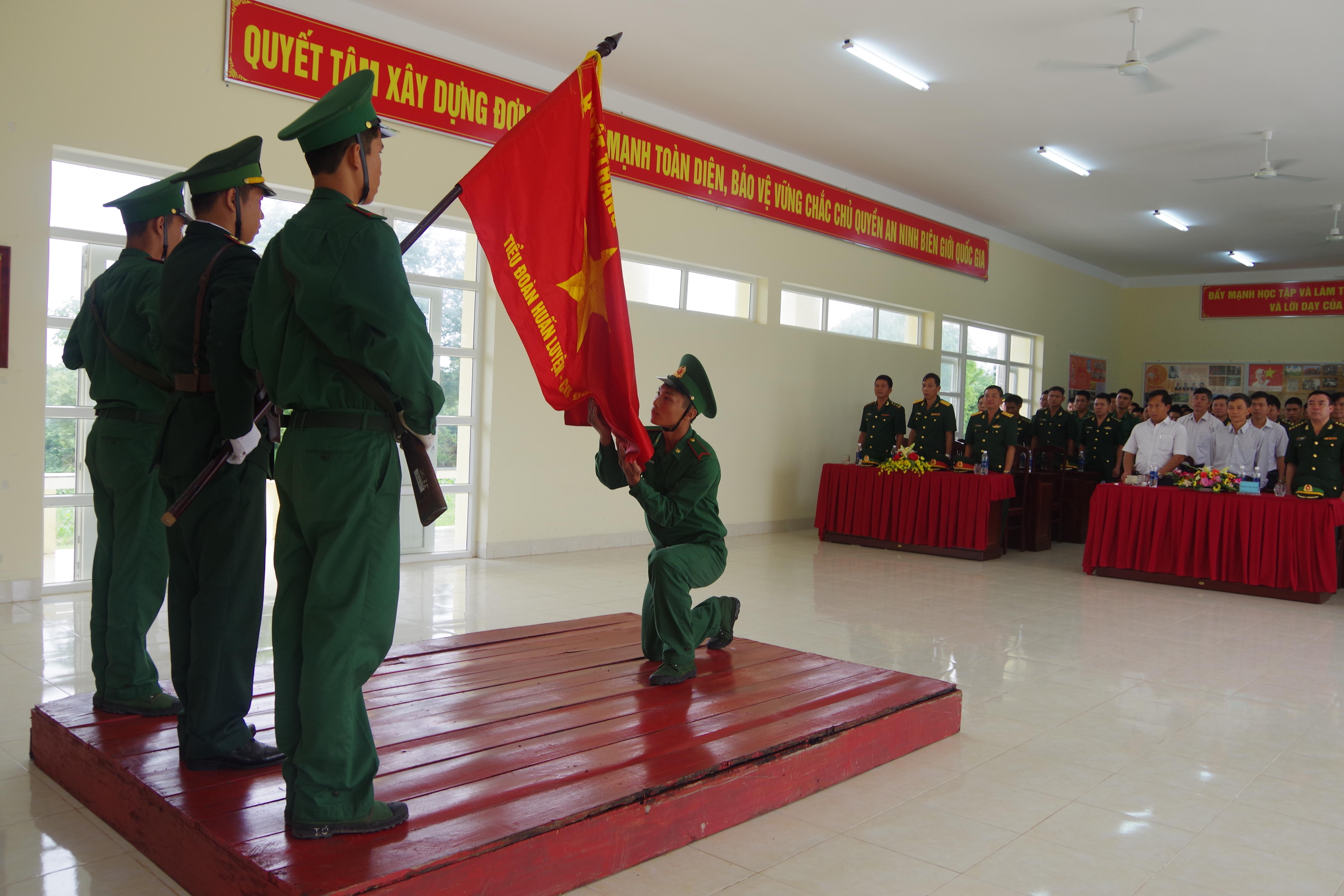 Bộ Chỉ huy BĐBP tỉnh Đắk Lắk: Tuyên thệ chiến sĩ mới năm 2018