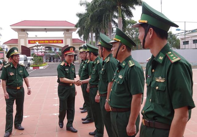 Bộ Tổng Tham mưu QĐNDVN kiểm tra công tác sẵn sàng chiến đấu tại      Bộ Chỉ huy Bộ đội Biên phòng tỉnh Đắk Lắk