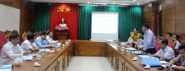 Họp Ban Chỉ đạo Dự án chuyển đổi nông nghiệp bền vững của tỉnh