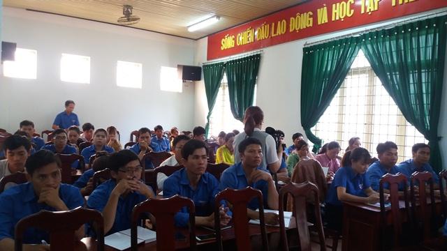 Huyện Lắk quán triệt Nghị quyết Đại hội Đoàn toàn quốc lần thứ XI, nhiệm kỳ 2017 - 2022
