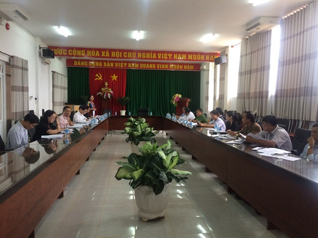 Giám sát việc thực hiện Luật phòng, chống bạo lực gia đình tại huyện Krông Búk