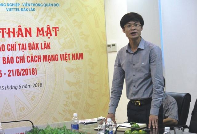 Viettel Đắk Lắk - Gặp mặt thân mật các cơ quan truyền thông, báo chí
