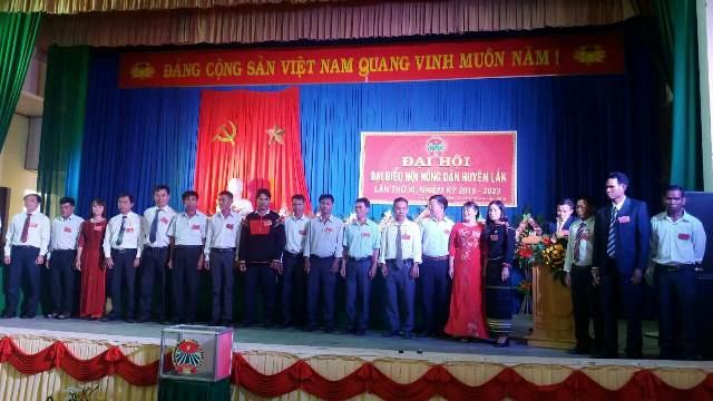 Hội Nông dân huyện Lắk tổ chức Đại hội đại biểu lần thứ XI, nhiệm kỳ 2018 – 2023