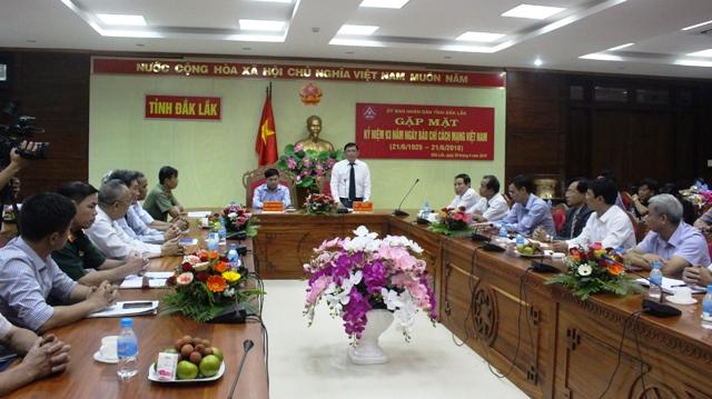 UBND tỉnh gặp mặt các cơ quan báo chí, truyền thông nhân Ngày Báo chí Cách mạng Việt Nam
