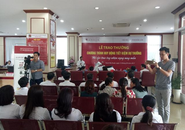 Agribank chi nhánh tỉnh Đắk Lắk: Làm tốt công tác phối hợp truyền thông với các cơ quan báo chí.