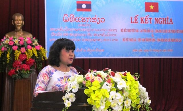 Hội hữu nghị Việt Nam – Lào tỉnh Đắk Lắk và Sê Kông ký kết hợp tác giai đoạn 2018 - 2023