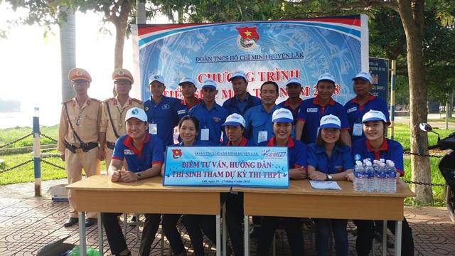 Huyện Lắk ra quân Chương trình Tiếp sức mùa thi năm 2018