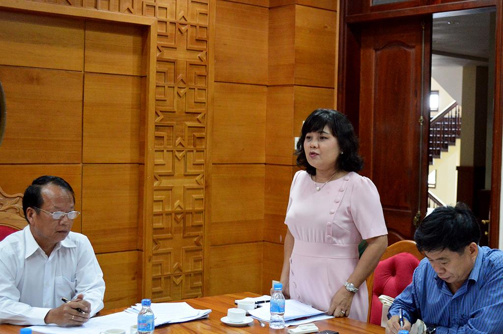 Thẩm tra Báo cáo công tác chỉ đạo điều hành của UBND tỉnh 06 tháng đầu năm 2018