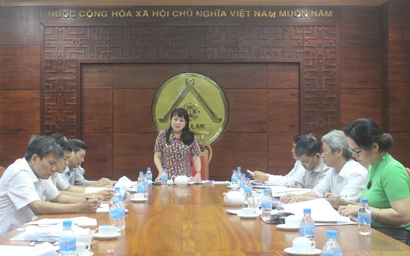Ban Văn hóa – Xã hội thẩm tra các nội dung trình Kỳ họp thứ 6 HĐND tỉnh khóa IX