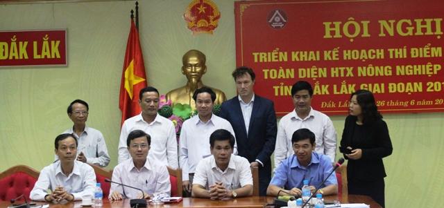 Công bố Kế hoạch thí điểm phát triển HTX nông nghiệp điển hình trên địa bàn tỉnh Đắk Lắk giai đoạn 2018-2020