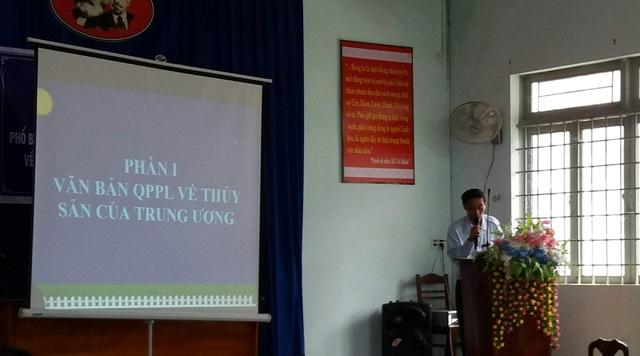 Tuyên truyền, phổ biến các văn bản pháp luật về Thủy sản trên địa bàn huyện Lắk
