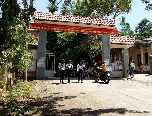 Kỳ thi THPT Quốc gia năm 2018 tại Điểm thi trường THPT  Lắk, huyện Lắk, tỉnh Đắk Lắk không có thí sinh vi phạm quy chế thi.